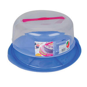 Picnic Cake Storage Container Assorted Colors
