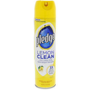 Pledge Lemon Clean Furniture Spray 274g