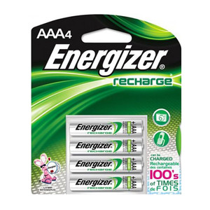 Energizer Recharge Battery AAA 4pcs