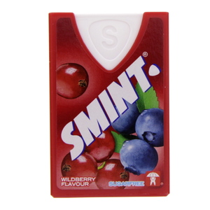Smint Sugar Free  Xylitol Wildberry Flavour 8g