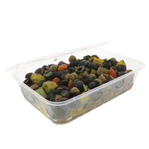 Spicy Vegetarian Olives Salad 200g Approx. Weight