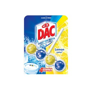 Dac Toilet Rim Blocks Lemon 50g