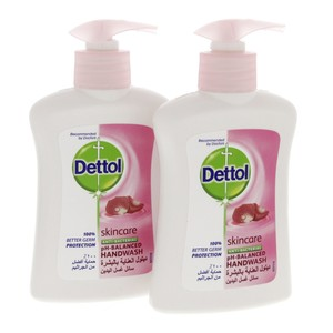 Dettol Liquid Hand wash Skin care Anti bacterial 200ml x 2