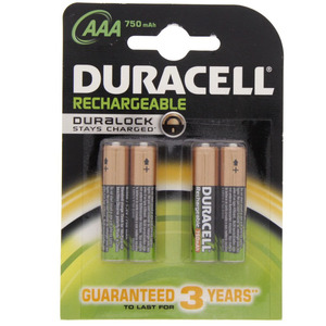 Duracell Rechargeable AAA Battery