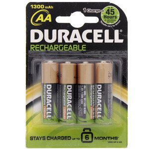 Duracell Rechargeable AA Battery