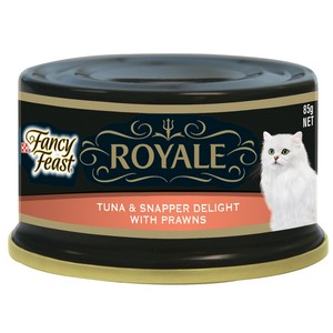 Purina Fancy Feast Royale Tuna & Snapper Delight With Prawn Wet Cat Food 85 Gm