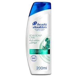 Head & Shoulders Itchy Scalp Care Anti-Dandruff Shampoo With Eucalyptus 200ml