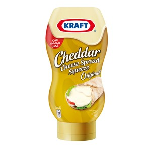 Kraft Cheddar Cheese Spread Squeeze 790g