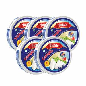 Delite Cheese Triangles 8Portions 5 x 120g