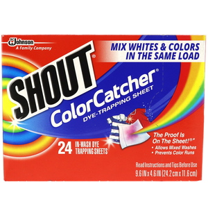 Shout Color Catcher Day Trapping 24 Sheets