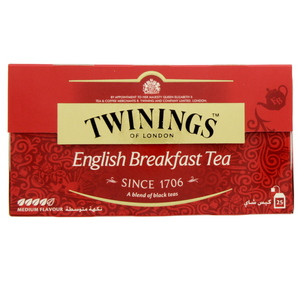 Twinings English Breakfast Tea 25 X 2g
