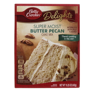 Betty Crocker Super Moist Butter Pecan Cake Mix 432 Gm