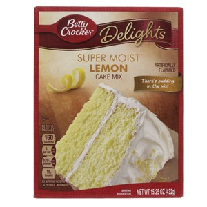 Betty Crocker Super Moist Lemon Cake Mix 432 Gm