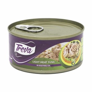 Treva Light Meat Tuna In Vegetable Oil 170g