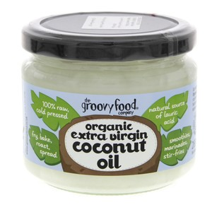 Groovy Food Organic Extra Virgin Coconut Oil 283ml