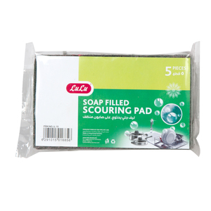 Lulu Soap Filled Scouring Pads 5pcs