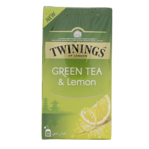 Twinings Green Tea And Lemon 25pcs