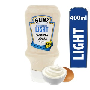 Heinz Incredibly Light Mayonnaise 400ml