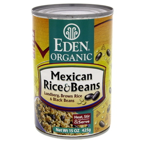 Eden Organic Mexican Rice And Beans 425g