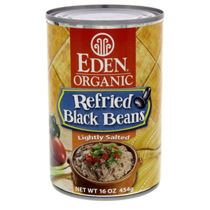 Eden Organic Refried Black Beans 454g