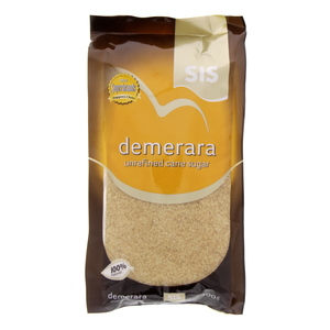 Sis Demerara Unrefined Cane Sugar 500 Gm
