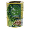 John West Light Meat Tuna Chunks In Sunflower Oil With Brine 170g x 3pcs
