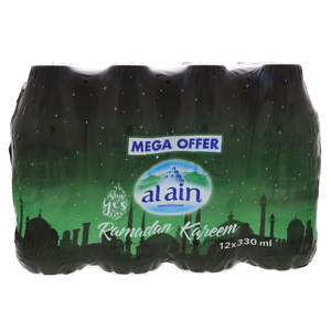 Al Ain Bottled Drinking Water 330ml x 12pcs
