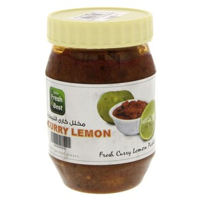 Lulu Pickle Curry Lemon 300g