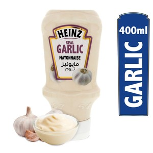 Heinz Real Garlic Mayonnaise 400ml