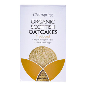 Clearspring Organic Traditional Scottish Oat Cakes 200g