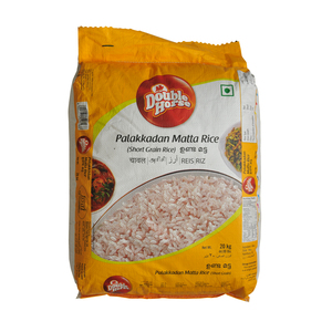 Double Horse Palakkadan Matta Rice Short Grain 20kg