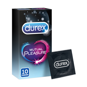 Durex Mutual Pleasure Condoms 10pcs