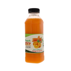 Lulu Fresh Orange & Carrot Juice 500ml