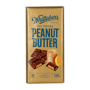 Whittaker's Peanut Butter Milk Chocolate 220g