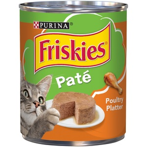 Purina Friskies Poultry Platter Classic Pate Cat Food 368 Gm