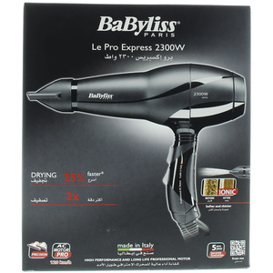 Babyliss Hair Dryer BAB6614SDE