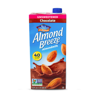 Blue Diamond Almond Breeze Unsweetened Chocolate Almond Milk 946ml