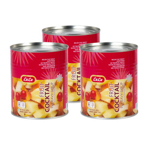 Lulu Fruit Cocktail In Syrup 3 x 425g