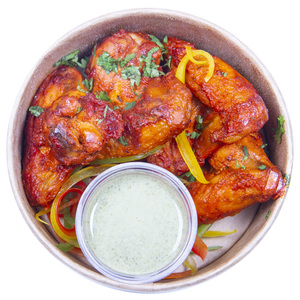 Tandoori Wings 300g Approx. Weight (Chilled)