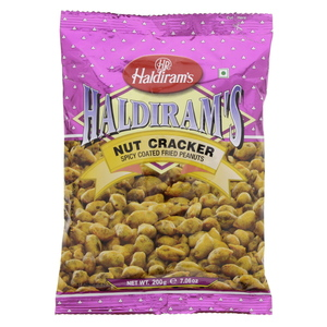 Haldiram's Nut Cracker Spicy Fried Peanuts 200g
