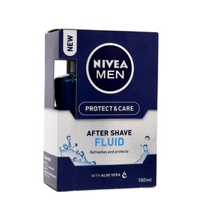 Nivea Men After Shave Fluid With Aloe Vera 100ml