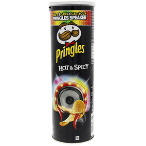 Pringles Hot & Spicy Chips 165g