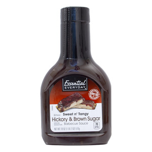 Essential Everyday Hickory And Brown Sugar Barbecue Sauce 510g