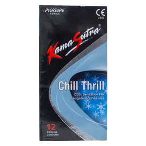 Kamasutra Condoms Chill Thrill 12pcs