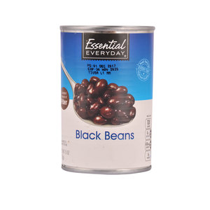 Essential Everyday Black Beans 425g