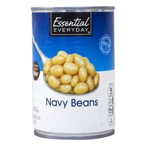 Essential Everyday Navy Beans 425g