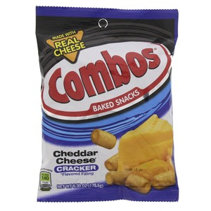 Combos Backed Snacks Cheddar Cheese Cracker 178.6g