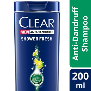 Clear Men's Anti-Dandruff Shampoo Shower Fresh, 200ml