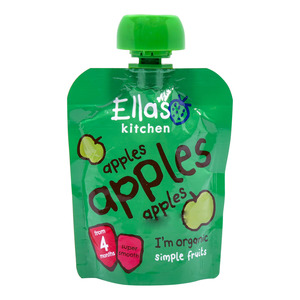 Ella's Kitchen 100% Organic Baby Food Apples 70g