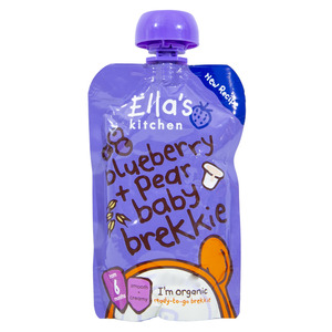 Ella's Kitchen Organic Baby Food Blueberry + Pear 100g